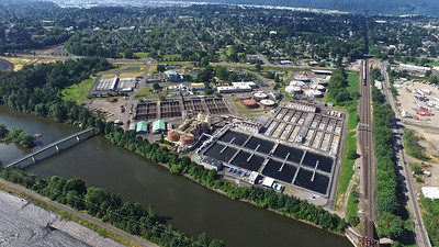 Columbia Blvd Waste Water Treatment Plant-Portland, OR