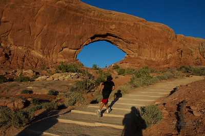 Arches National Park, UT,  North Window-