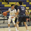 The first quarter of the La Cueva High School vs Santa Fe High School basketball game at Santa Fe on Friday, January 20, 2017. Luis Sánchez Saturno/The New Mexican