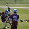 The second quarter of the Santa Fe Prep vs Sandia Prep Lacrosse championship game at Ballon Fiesta Park on Saturday, May 6, 2016. Luis Sánchez Saturno/The New Mexicane