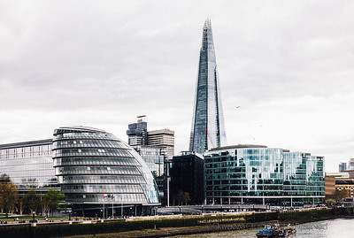 City Hall, The Shard - View From Tower Bridge