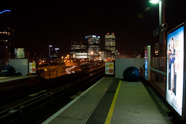 Canary Wharf - View From East India DLR Station