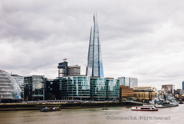 The Shard - View From Tower Bridge