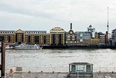 Butler's Wharf - View From St Katharine Docks