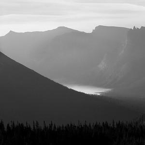 Sunrise at St. Mary Lake, Glacier National Park