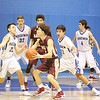 The first quarter of the Santa Fe Indian School vs St. Michael's High School during the Horsemen Shootout at St. Mike's on Saturday, January 14, 2017. Luis Sánchez Saturno/The New Mexican