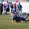 The second quarter of the St. Michael's High School vs Robertson High School football game at St. Mike's on Saturday, October 22, 2016. Luis Sánchez Saturno/The New Mexican