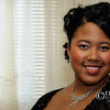 Young adult African American woman poses for portrait - a color image