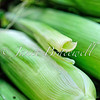 Ears of corn at a Fredericksburg street market - a color image