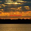A color image of an Assateague Island sunrise on Virginia's Eastern Shore