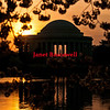 View of Jefferson Memorial at sunrise in Washington, DC - a color image