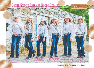 Cache County 2017 Royalty Autograph Sheet
