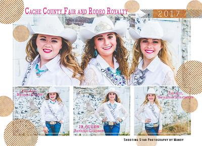 Cache County 2017 Jr Queen Autograph Sheet