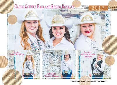 Cache County 2017 Queen Autograph Sheet
