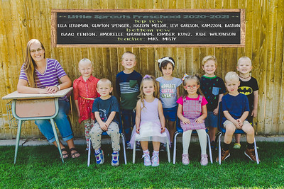 Little sprouts 4 yro class