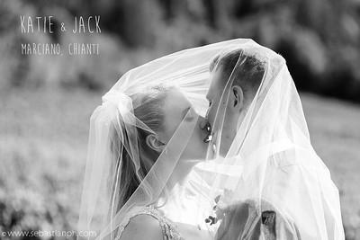 reportage di un intimo e bel matrimonio tra le colline toscane del chianti