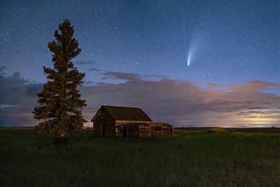 Comet over Conrad