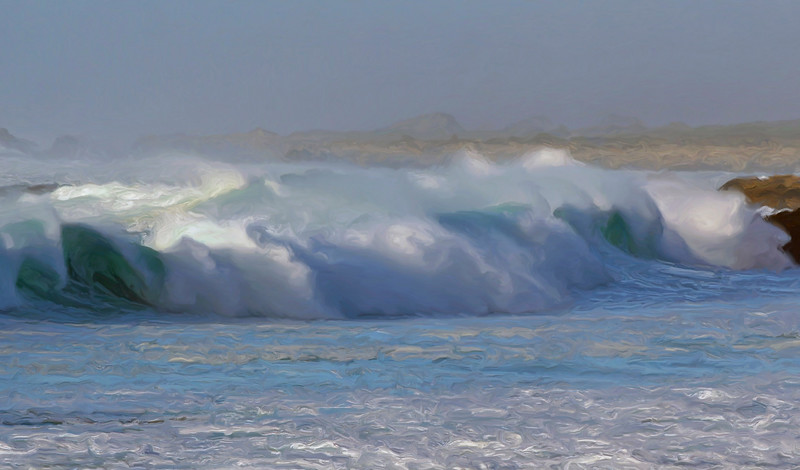 Seventeen Mile Drive Wave
