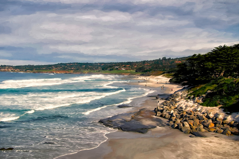 Morning in Carmel-by-the-Sea