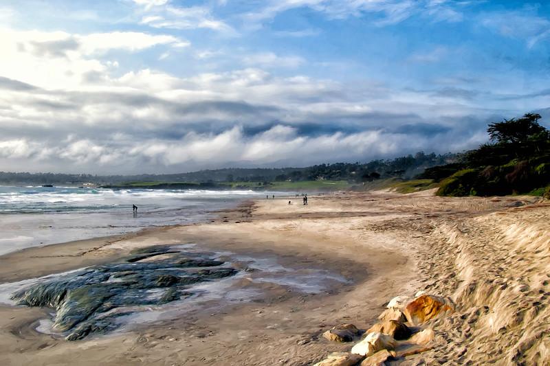 Carmel Beach Evening