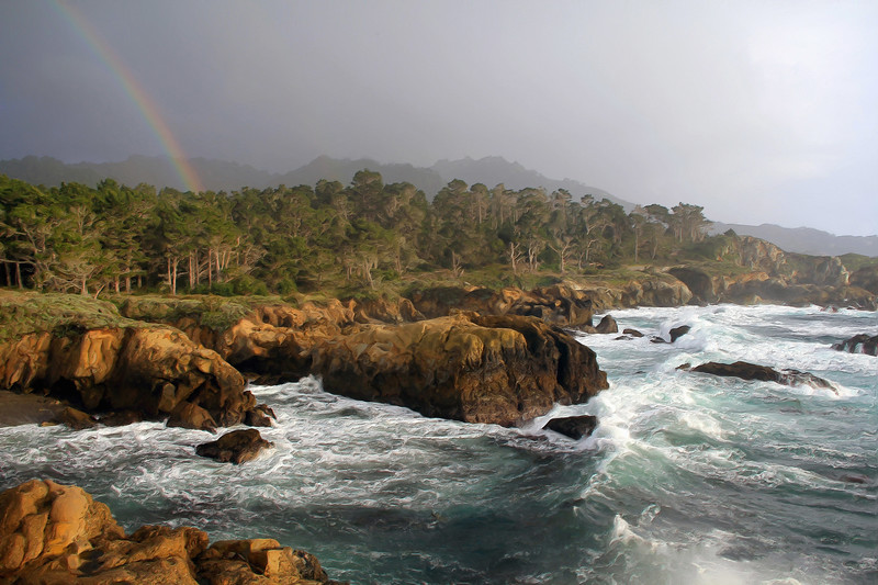 Point Lobos Rainbow