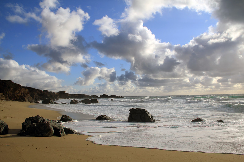 Big Sur Inviting Beach