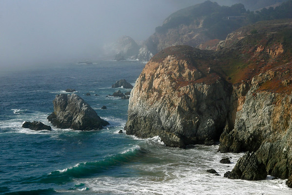 Big Sur Coast Fog