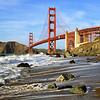 Golden Gate from Marshall Beach