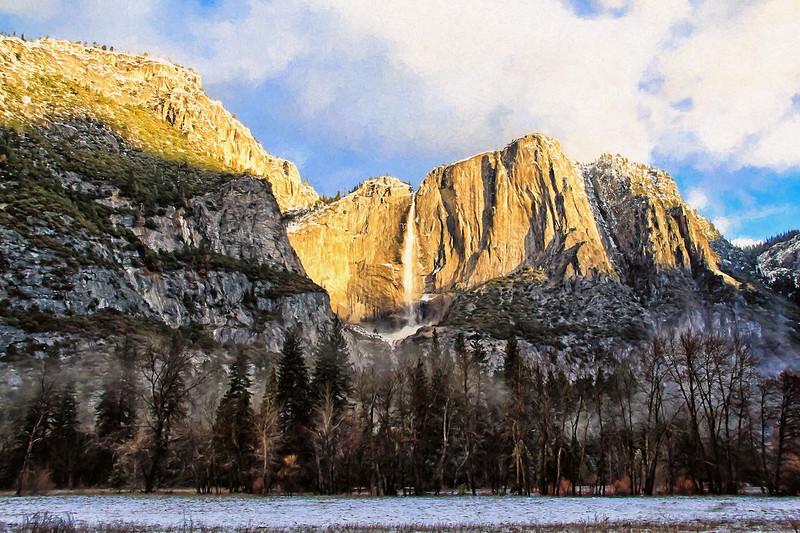 Last Light Yosemite Falls