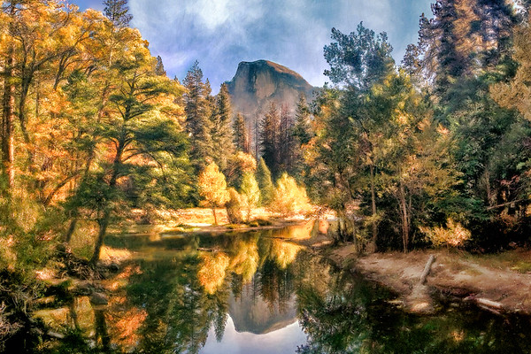 Half Dome Reflections
