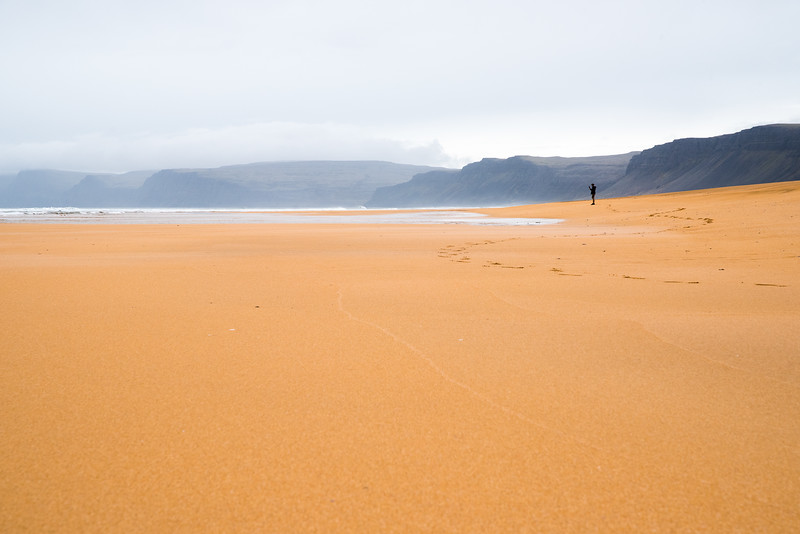 Red Sand Beach, Iceland