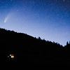 NEOWISE Comet in Rifle Mountain Park, Colorado