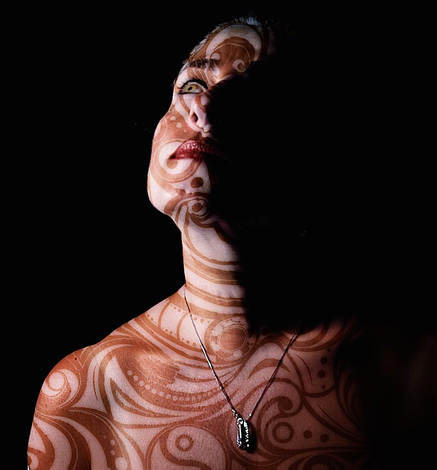 Diana-body painting 2