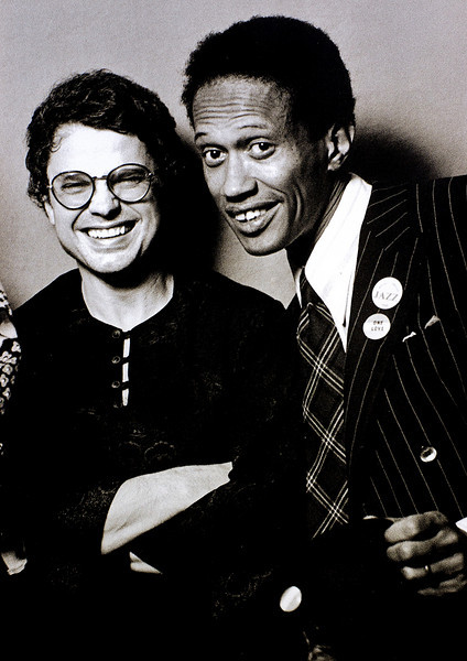 Charle Haden and Don CHerry, 1982<br /> from the book The Jazz Pictures; Photography by Carol Friedman