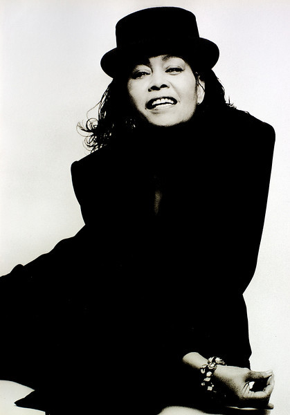 Abby Lincoln, 1990<br /> from the book The Jazz Pictures; Photography by Carol Friedman
