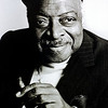 Count Basie,1982<br /> from the book The Jazz Pictures; Photography by Carol Friedman