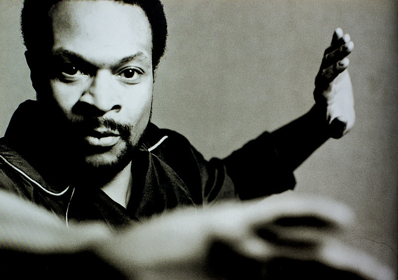 Woody Shaw, 1982<br /> from the book The Jazz Pictures; Photography by Carol Friedman