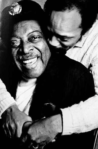 Count Bassie and Quincy Jones, 1982<br /> from the book The Jazz Pictures; Photography by Carol Friedman