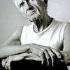 GIl Evans, 1982<br /> from the book The Jazz Pictures; Photography by Carol Friedman