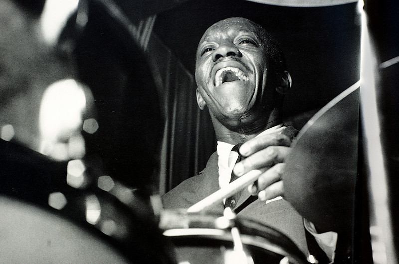 """from the book """"The Blue Note Years: The Jazz photography of Francis Wolff"""""""