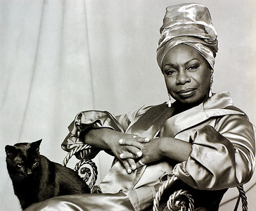 Nina Simone, 1993 from the book The Jazz Pictures; Photography by Carol Friedman