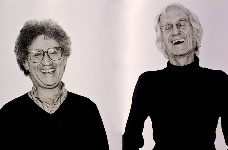 Lee Konitz and Gil Evans, 1980<br /> from the book The Jazz Pictures; Photography by Carol Friedman