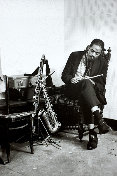 "from the book ""Jazz Seen by William Claxton"""