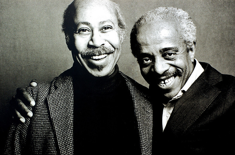 Tommy Flanagan and Barry Harris, 1982<br /> from the book The Jazz Pictures; Photography by Carol Friedman