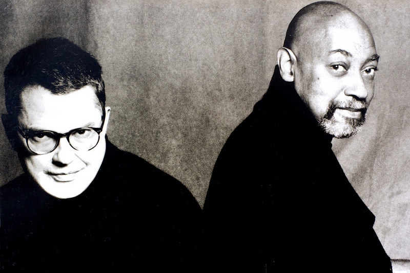 Charlie Haden and Kenny Barron, 1997<br /> from the book The Jazz Pictures; Photography by Carol Friedman