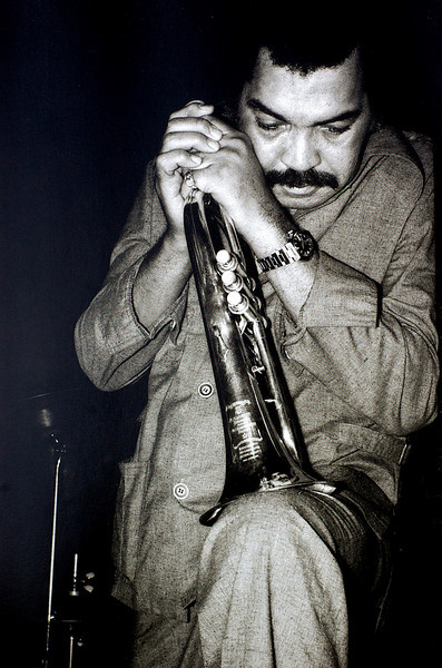 Art Farmer, 1980<br /> from the book The Jazz Pictures; Photography by Carol Friedman