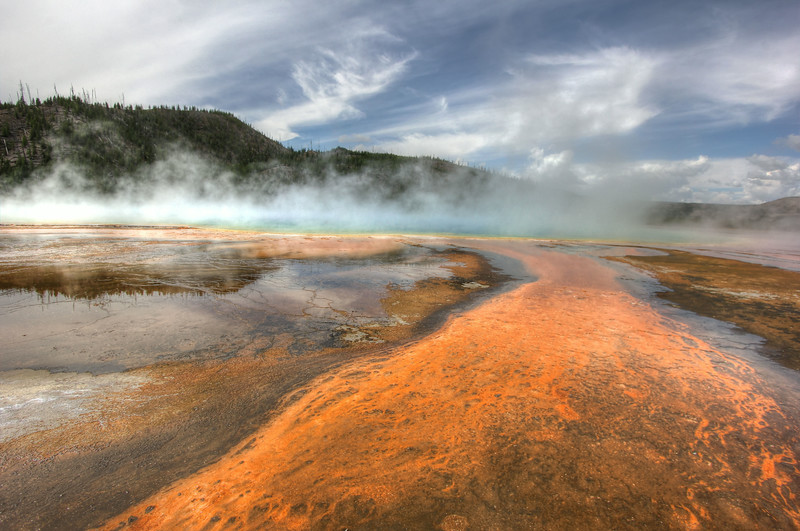Blue Mist of the Grand Prismatic