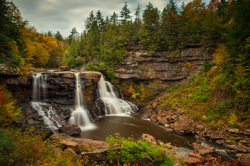 Blackwater-Falls-Scenery