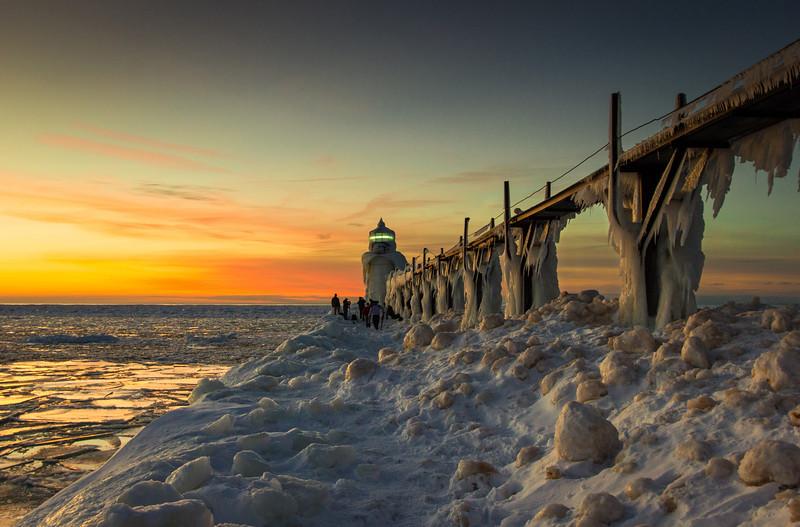 St Joseph Lighthouse at Twilight
