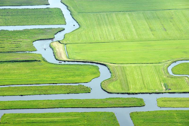 Slalom in the polder, The Netherlands